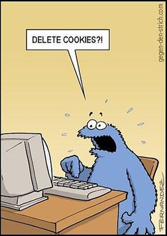 Don't delete the cookies!