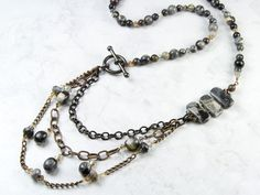 nice DIY Bijoux - Smoke Style Necklace
