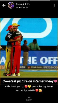 dude look at the pic , they are more than brothers Mumbai Indians Ipl, Dhoni Quotes, Virat Kohli Instagram, Ms Dhoni Wallpapers, Ipl Live, Cricket Wallpapers, Ab De Villiers, Chennai Super Kings, Sachin Tendulkar