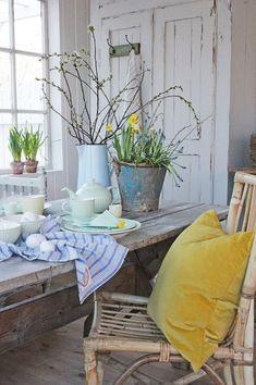 Charming Vintage Easter Décor Design Ideas07