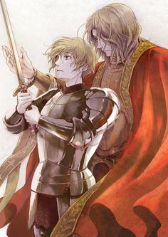 Hetalia- Joan of Arc and Francis