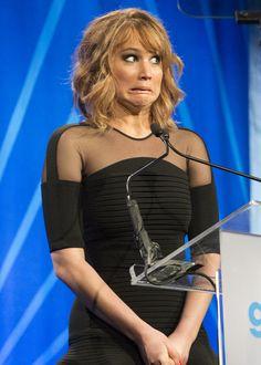 When asked if she would date co-star Josh Hutcherson. #youcandobetter #lovejlaw