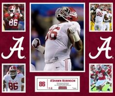 A'Shawn Robinson #Alabama #RollTide #Bama #BuiltByBama #RTR #CrimsonTide #RammerJammer