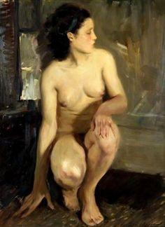 Adolescence Lucien Henri Grandgerard (1880 – 1970, French)