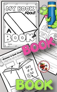 Teach your little ones about books with their own Book About a Book!