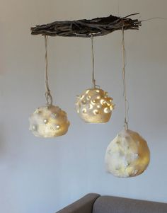Bombulis, Botrykos, Ghegheios lamp in felt on Behance