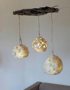 Bombulis, Botrykos, Ghegheios lamp in felt on Behance