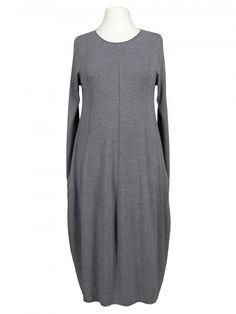 Damen Strickkleid A-Form, grau von Beauty Women bei www.meinkleidchen.de