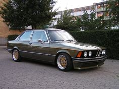 BMW E21 with BBS Mahle wheels