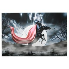 #Posters #Metal #Art - #The rise of the Headless Horseman Metal Print