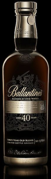 Wow... Ballantine's 40 year old Whisky. I bet this is probably like drinking velvet & stars!