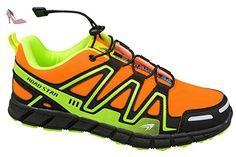 gibra , Chaussures de course pour homme - orange - neonorange/neongelb, -  Chaussures