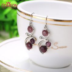 2015 Summer Europe and America Classic Fashion Jewelry Round 3 Colors Cat's Eye Earrings Free Shipping♦️ B E S T Online Marketplace - SaleVenue ♦️👉🏿 http://www.salevenue.co.uk/products/2015-summer-europe-and-america-classic-fashion-jewelry-round-3-colors-cats-eye-earrings-free-shipping/ US $1.58