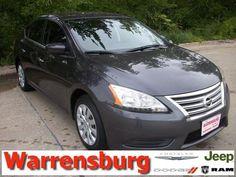 2013 Nissan Sentra, 27,060 miles, $14,725.