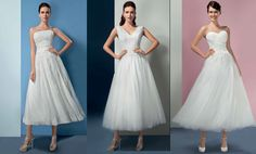 One of the wedding dress trend for 2016 & 2017 is the Vintage style tea length bridal gown. If you want to show your lovely shoes off on your wedding day, choose this style! It is a perfect dress for your civil wedding as well. Wedding Dress Trends, Wedding Dresses, Vintage Style, Vintage Fashion, Strapless Dress Formal, Formal Dresses, Civil Wedding, Tea Length, On Your Wedding Day