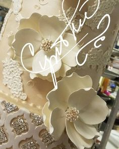 "74 Likes, 3 Comments - Cynthia's Cakes (@cynthiascakesllc) on Instagram: ""Great weekend ahead! #wedding #weddingcakes #cynthiascakes #rgvweddingcakes #welovecake #lux…"""