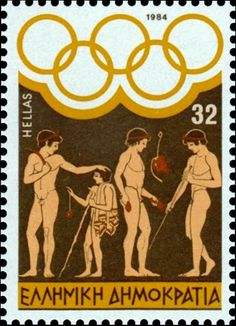 TRAVEL'IN GREECE | Ancient Greece Stamps 1984, #Greece, #travelingreece