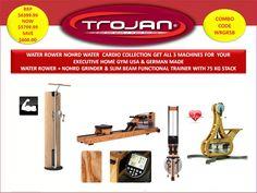 Packages : Water Rower & Grinder & Slim Beam Package - Trojan Fitness