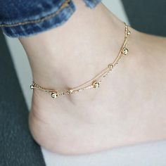 panacea beach ankle rose coral flower bracelet pearl anklet filled gold