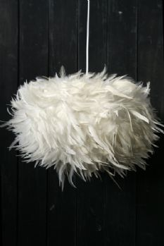Feather light fixture