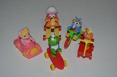 Vintage 80's Jim Henson's Muppet Babies - McDonald's Toys - Complete Set
