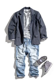 A blazer makes any toddler very stylish!