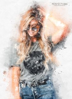 Perfectum 3 - Watercolor Master Photoshop Action by on DeviantArt