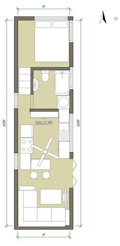 Tiny house basic layout