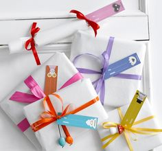 Colorful wrapping paper by Minimega Paper Goods
