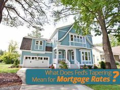 On Wednesday Dec 18th, the Federal Reserve announced it would start to taper its aggressive #bond-buying program to $75 billion a month beginning in January. What does this mean for #mortgage rates?