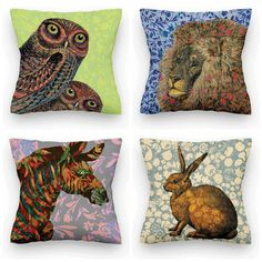 Cushion Covers by Tony Pinchuck | The Pet Matchmaker Fave Five: June 2015