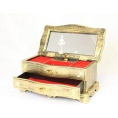 Victorian Style Musical Jewellery Box