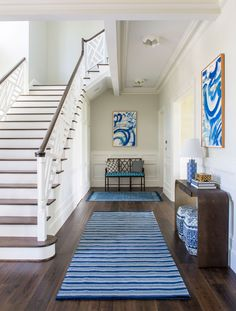 Andrew Howard Interior Design (House of Turquoise) Design Entrée, House Design, Interior Design, Hall Interior, Design Ideas, Welcome Design, House Of Turquoise, Foyer Decorating, Entry Foyer