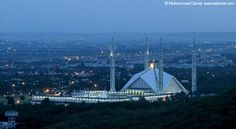 Islamabad - Faisal mosque Indus Valley Civilization, Mosque, Homeland, Sailing Ships, Opera House, Boat, Building, Pakistani, Travel