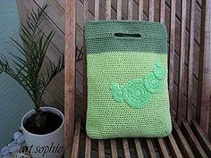 Iné tašky - Akurát-do-ruky bavlnená v zelenkavom - ihneď... - 2831236