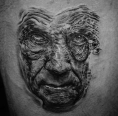Illusion: The realistic black and grey tattoos of Mark Powell. Photos © Mark Powell Link via Ink Butter. http://illusion.scene360.com/art/30763/tattoos-i-got-my-eyes-on-you/