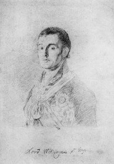 Goya y Lucientes, Francisco de: Retrato del duque de Wellington Kunsthalle