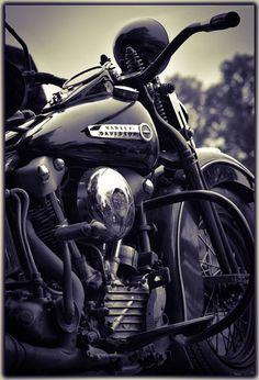 Harley Davidson Knuclehead, work of art. Motos Vintage, Vintage Bikes, Harley Davidson Knucklehead, Harley Davidson Motorcycles, Cool Motorcycles, Vintage Motorcycles, Custom Harleys, Custom Bikes, Hd Vintage