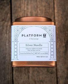 Platform T packaging. Love the blue on copper