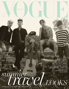 Big Bang Does Bohemian Grunge Style for Vogue Korea July 2015 Covers Daesung, Vip Bigbang, Choi Seung Hyun, Vogue Korea, Yg Entertainment, Girls Generation, G Dragon Instagram, Park Shin, Big Bang Kpop