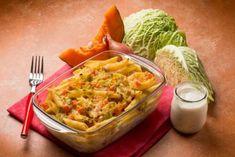 Bunter Zucchini Auflauf schmeckt nicht nur Vegetarier Penne, Italian Style, Guacamole, Cabbage, Low Carb, Mexican, Keto, Ethnic Recipes, Food