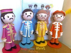 Beatles by Sonho Doce Biscuit *Vania.Luzz*, via Flickr