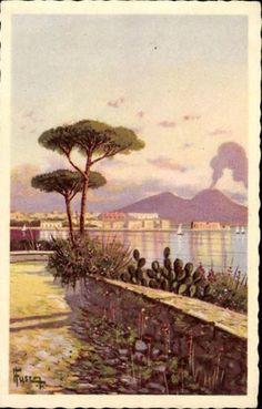 Panorama da Posillipo, Napoli
