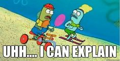 Which SpongeBob Character Are You? -- I got the I can explain guy! I died laughing!