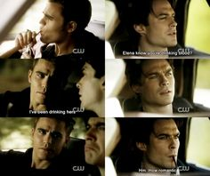 Stefan and Damon Bonnie And Jeremy, Damon And Bonnie, Damon And Stefan, Vampire Diaries Cast, Vampire Diaries The Originals, Stefan And Caroline, The Salvatore Brothers, Original Vampire, Vampire Dairies