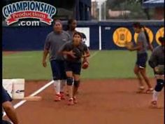 Mike Candrea:  USA Softball - Defensive Drills.  More coaches need to learn from this man! He knows exactly love learning from him
