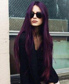 Фиолетовые волосы - 68 фото и идей модного окрашивания