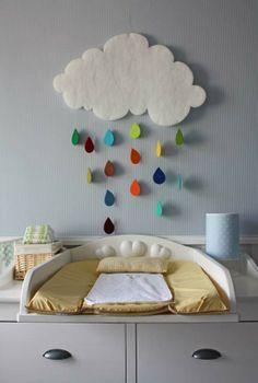 Si las gotas de lluvia fueran de colores♪