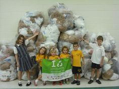 November 15th is America Recycles Day. Organize a recycling awareness day at your school. One Green Ribbon Elementary School collected 6,473 plastic bags to recycle for at this one day event. #classroom #kidsactivities #lessonplans