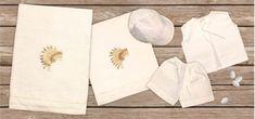 oil cloth set 6 pieces, ladopano,ladopana, λαδόπανα, set underwear baptism vaptism vaptisi Unique Christmas Gifts, Christmas Baby, Unique Gifts, New Year Gifts, New Baby Gifts, Etsy Handmade, Handmade Gifts, Baptism Favors, Christening Gifts